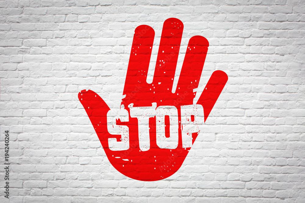 Fototapety, obrazy: Stop