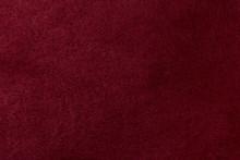 Full-frame Burgundy Red Velvet Cloth Background