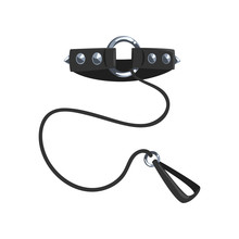 Leather Fetish Collar With Ste...