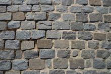 Old Cobblestone Pavement Close...