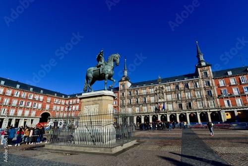 Poster Madrid マドリードの宮殿と教会