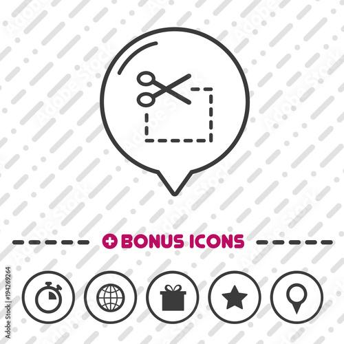 Coupon Icon Scissor Symbol Buy This Stock Vector And Explore
