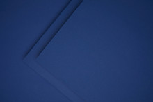 Beautiful Dark Blue Geometric Paper Background