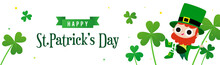 Happy St. Patrick's Day Banner...