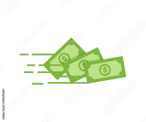 Fotografía Money vector icon