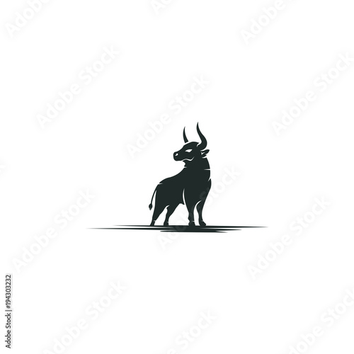 bull concepts logo vector template abstract graphic