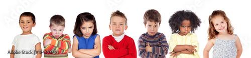 Fotografía  Seven angry children