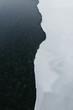 Half frozen river