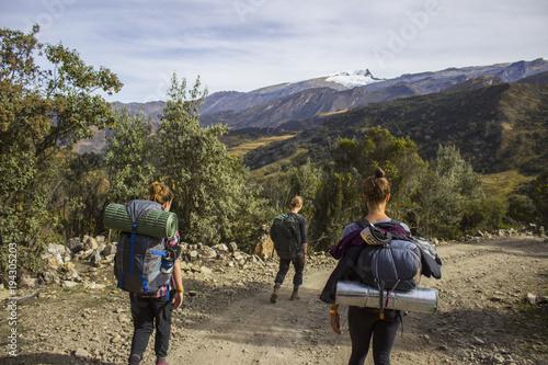 Photo Caminantes en la Sierra Nevada del Cocuy