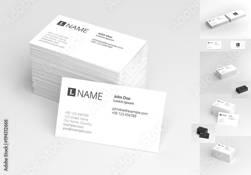 4 in 1 business card mockup set 1 comprar este modelo do stock e 4 in 1 business card mockup set 1 reheart Choice Image