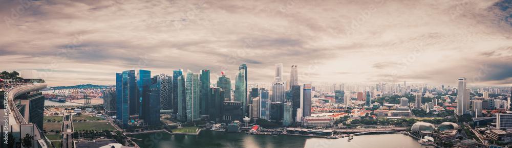 Fototapeta Singapore panorama