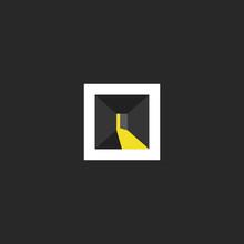 Open Door Logo Design, Abstrac...