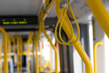 Manchester Metrolink Tram  Interior Subway Train