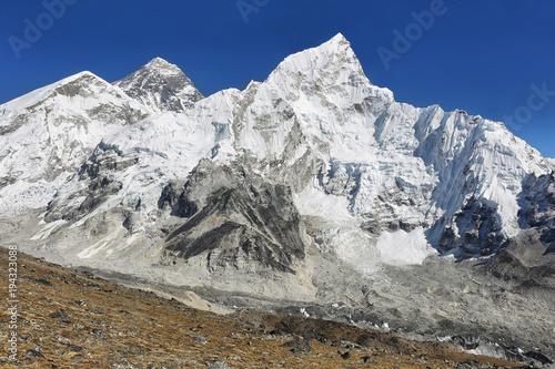 Plakat Everest & Nuptse z Kalapattar, 5545m