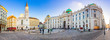 Leinwanddruck Bild - Royal Palace of Hofburg in Vienna, Austria