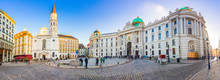 Royal Palace Of Hofburg In Vie...