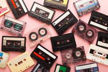 Heap Of Vintage Audio Cassette...