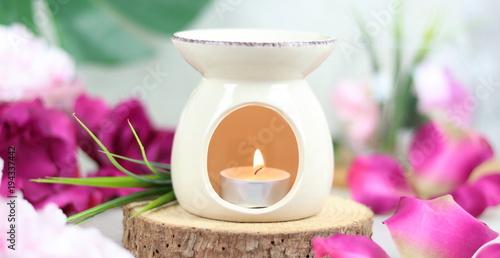 Fotografia Kominek zapachowy - aromaterapia