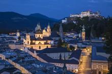 Austria, Salzburg, View Of Hoh...