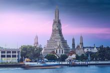 Wat Arun (Temple Of Dawn), Bangkok, Thailand