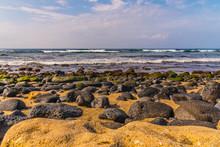 Rocky Beach By The Ocean