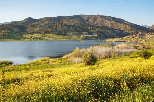 Tuinposter Meloen Cyprus landscape