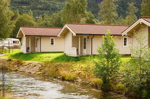 Poster Scandinavië Camping