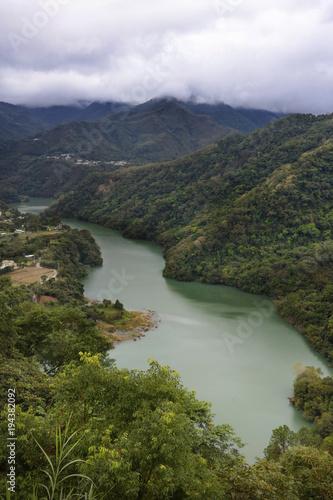 Foto op Aluminium Rivier Mountains in Taiwan