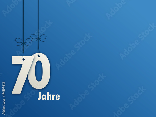Ikone 70 JAHRE Poster