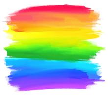 Rainbow Colors Stripes Vector ...