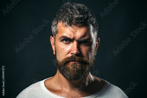 Fotografija Portrait of self confident brutal man