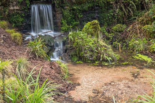 waterfall in leigh woods near Bristol Canvas Print