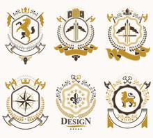 Vector Vintage Heraldic Coat O...