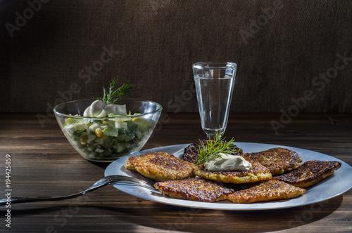 Драники, картофельные оладьи