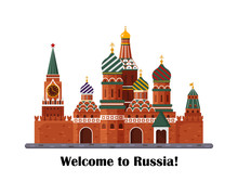 Welcome To Russia. St. Basil S...