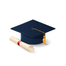 Graduation Cap Or Mortar Board...