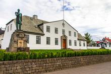 White House In Reykjavik. Iceland 10.06,2017