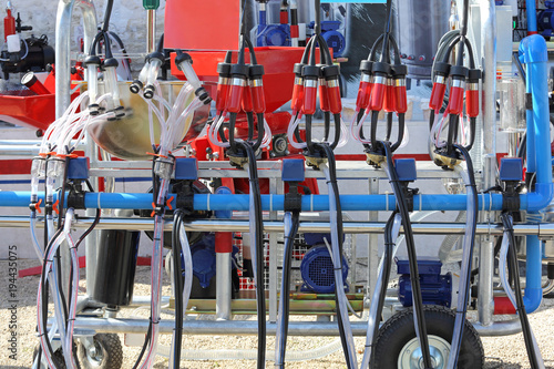 Fotografie, Obraz  Mobile Milking Machine