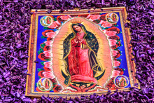 Virgin Mary Detail On Holy Thu...