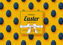 Easter Holiday Greeting Card W...