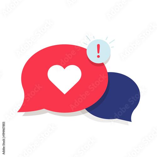 Brand Ambassador Chat Speech Bubble Icon and Influencer Marketing Representative Canvas Print