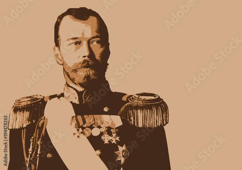 Fotografija Nicolas 2 - Tsar - portrait - Nicolas II - Russie - personnage historique - révo