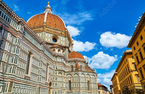 Fotografie, Obraz  Duomo. Santa Maria del Fiore Cathedral in Florence. Italy. Side
