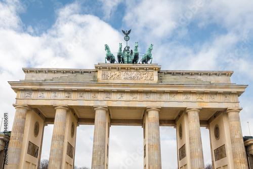 Keuken foto achterwand Berlijn Brandenburg Gate in Berlin, Germany