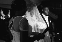 A Nigerian Bride Stands Ready ...