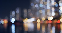 Blur Of City At Night