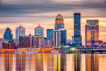 Louisville, Kentucky, USA Skyline