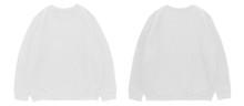 Blank Sweatshirt Color White T...