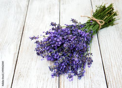 Tuinposter Lavendel bunch of lavender