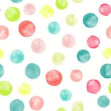 Watercolor Vector Seamless Pat...